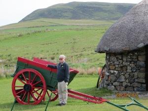Scottish cottage with vehicle