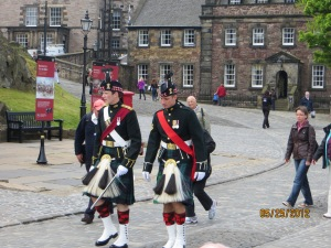 Edinburgh Castle Guards