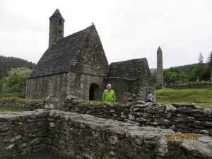 The monks at Glendalough also like towers