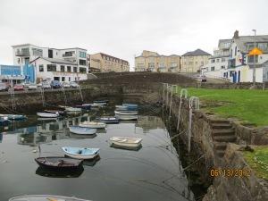 Pilgrim's Steps in the port of Portrush