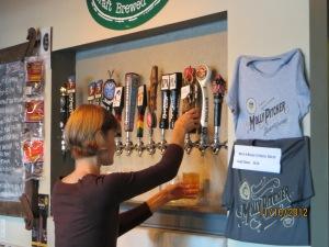 Modern brewery in Atascadero