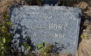 Grave in Unity, Oregon