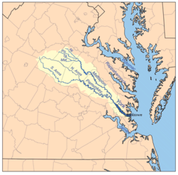 Location of Gresham Virginia Land