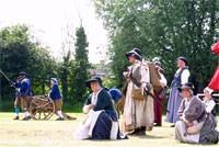 Elizabeth Countryman Reenactors