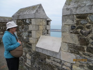 Deal Fortifications and a Tourist
