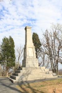 Tourist Looking at Memorial
