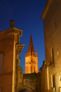 St, Emilion at Night