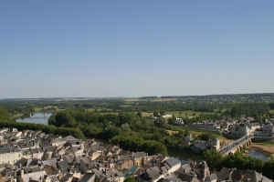 View from Chinon Castle
